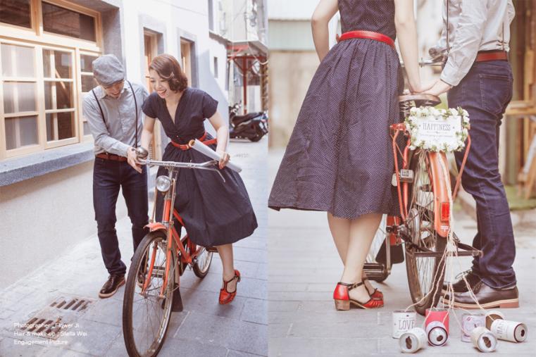 Flower Ji + Photography , 生活婚紗 , 說故事自助婚紗 , 復古生活 , 愛 , 復古婚紗 , 訂婚照 , Engagement Picture , Taiwan , Taipei